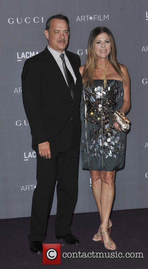 Tom Hanks and Rita Wilson LACMA 2012 Art...