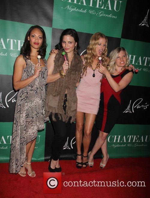 Cynthia Addai-Robinson, Katrina Law, Ellen Hollman and Bonnie...