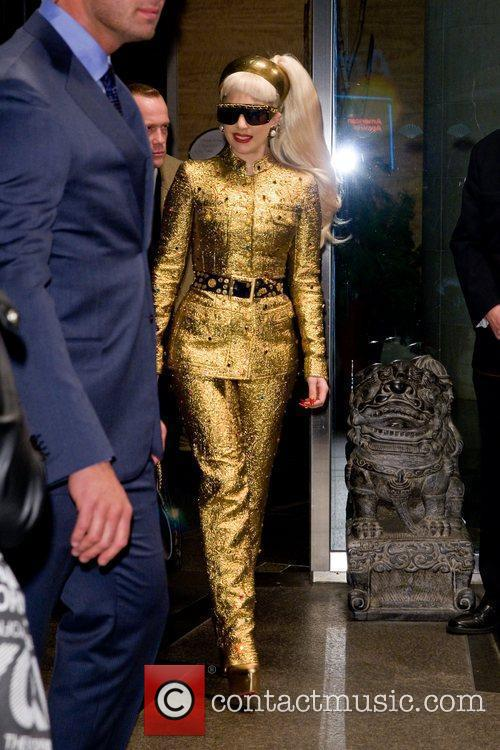 Lady Gaga and Manhattan Hotel 2
