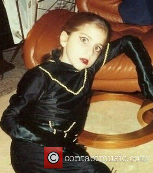 Lady Gaga pictured when she was 9 years...