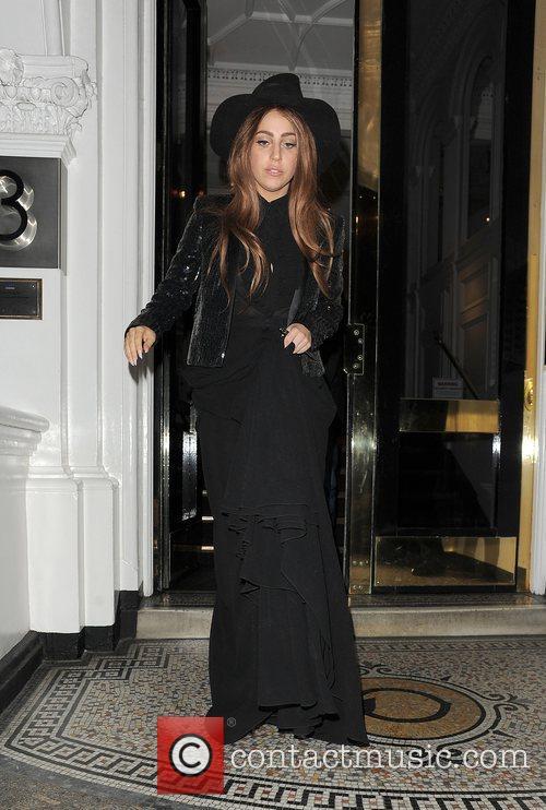 Lady Gaga, The Equadorian Embassy