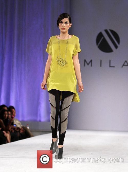 LA Fashion Week - Mila - Runway -...
