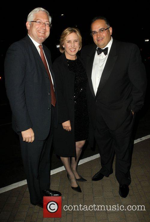 Dean Schramm, Wendy Greuel, Speaker John A. Perez...