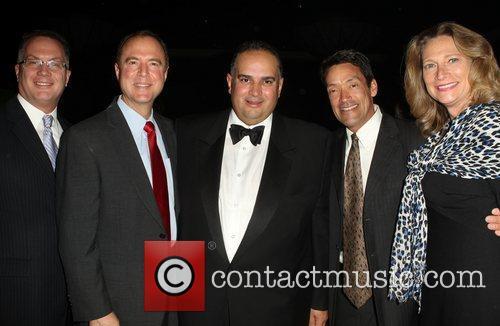 Jeff Prang, Adam Schiff, Speaker John A. Perez,...