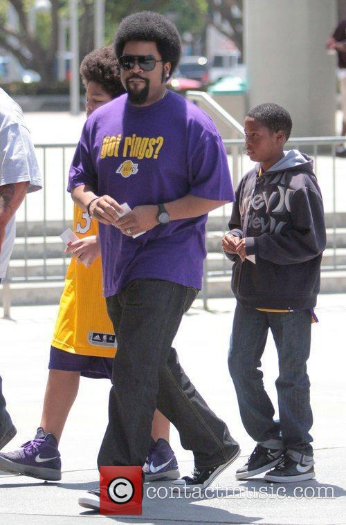 Ice Cube and Staples Center 2