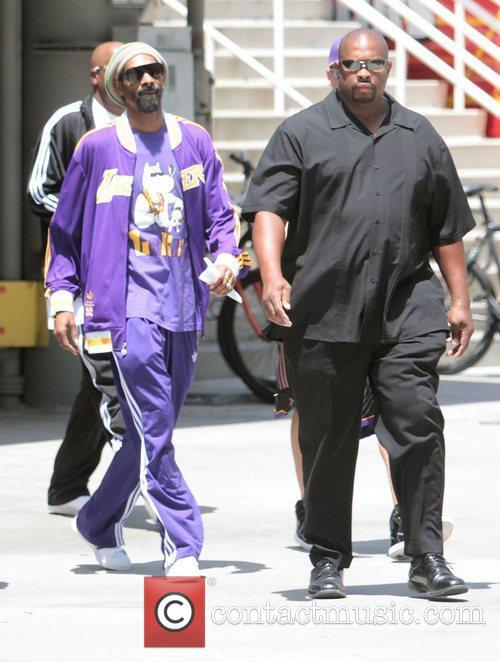 Snoop Dogg,  arriving at the Los Angeles...