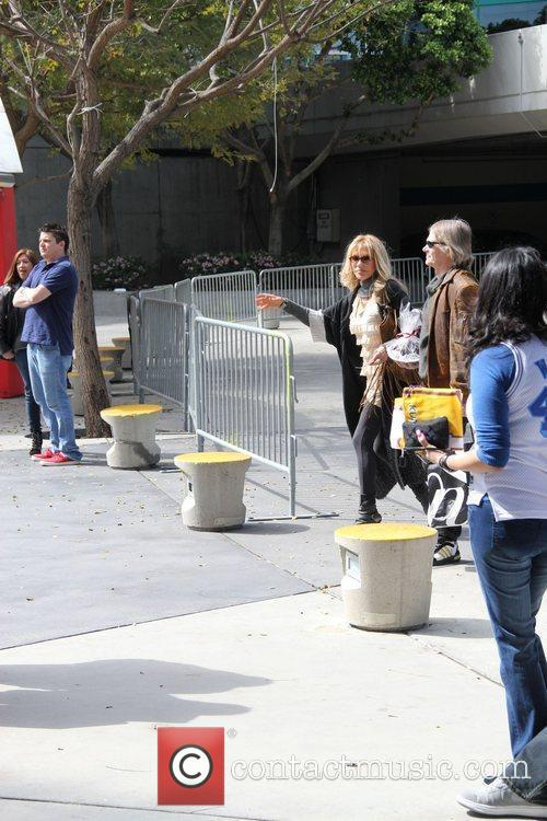 Dyan Cannon and Staples Centre 3