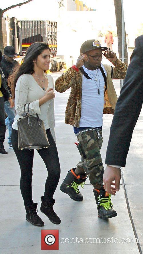 Lil Wayne and Staples Center