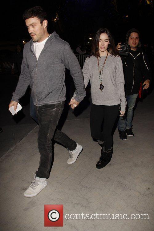 Brian Austin Green, Megan Fox and Staples Center 2
