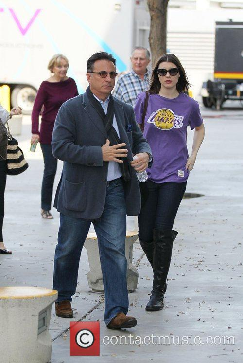 Andy Garcia and Staples Centre 2