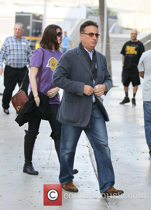 Andy Garcia and Staples Centre 4