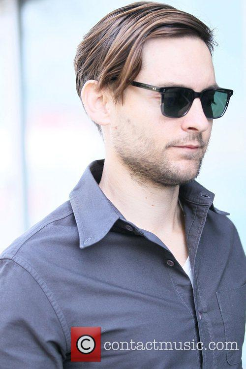 Tobey Maguire and Staples Centre 5
