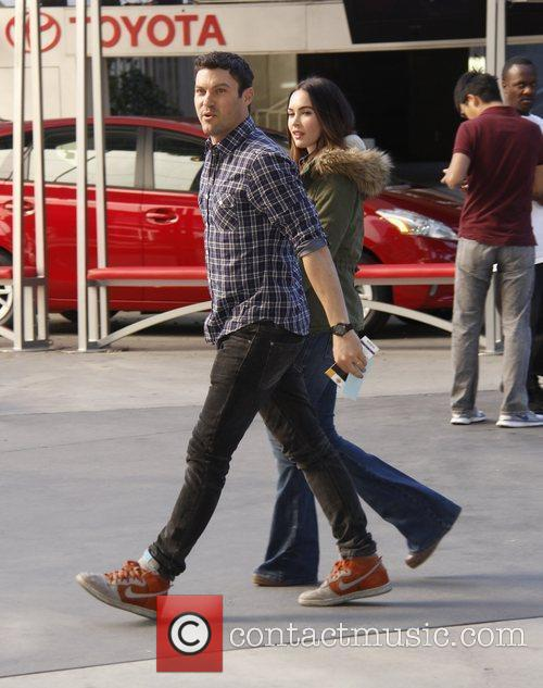 Brian Austin Green, Megan Fox and Staples Center 2