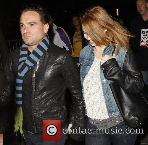 Johnny Galecki and Staples Center 2