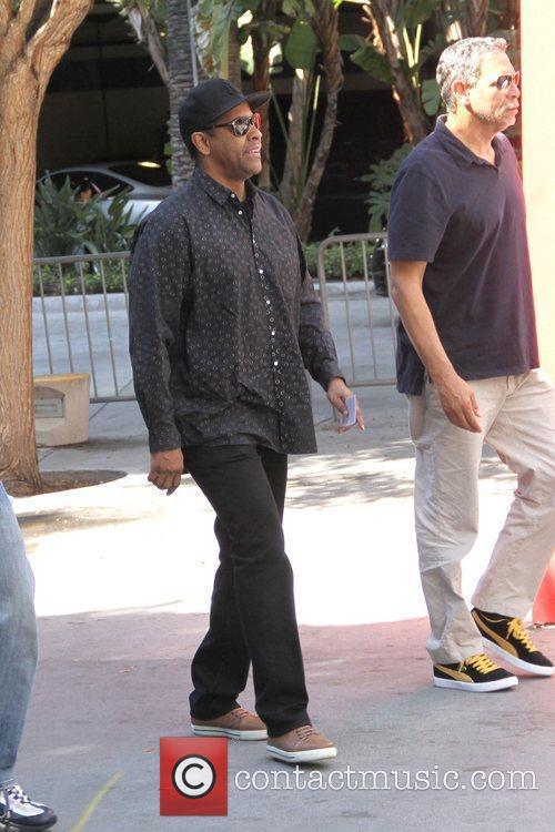 Denzel Washington and Staples Center 16