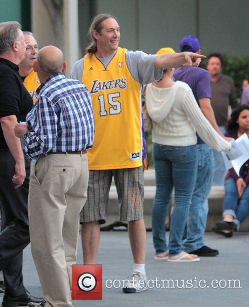 Danny Carey Celebrities arrive at the Staples Centre...