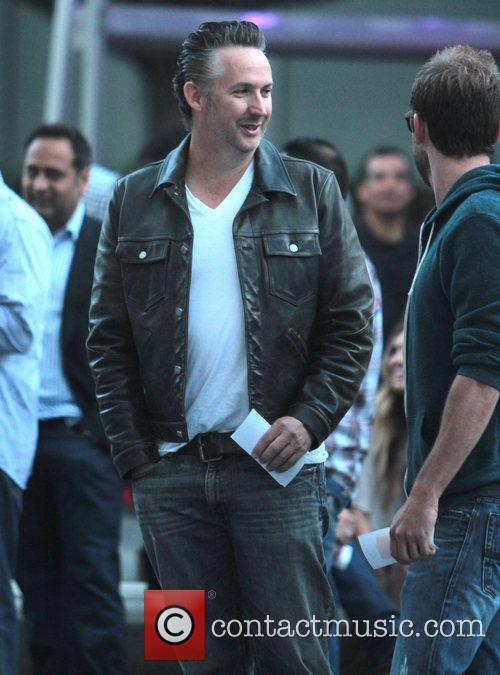 Harland Williams Celebrities arrive at the Staples Centre...