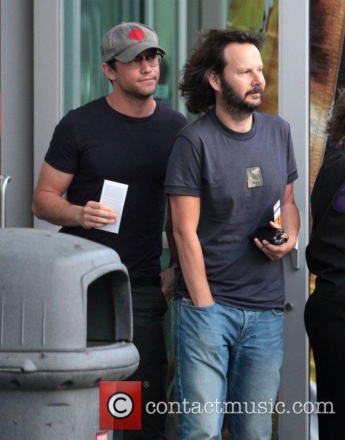 Joseph Gordon-Levitt Celebrities arrive at the Staples Centre...