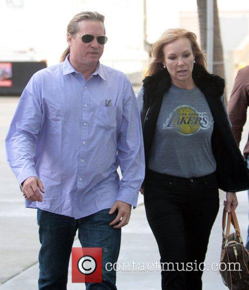 Val Kilmer and Staples Centre 2
