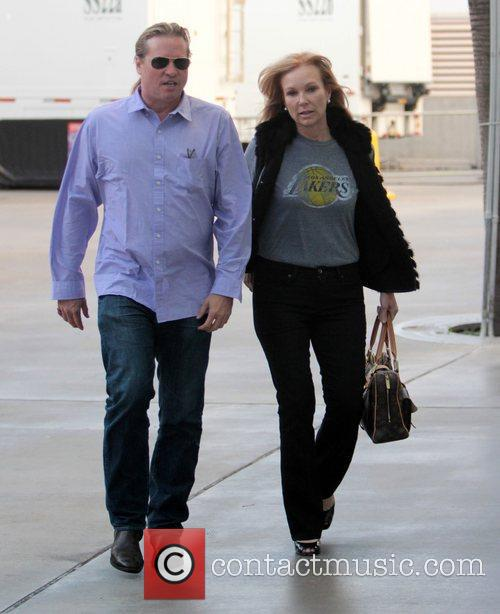 Val Kilmer and Staples Centre 1