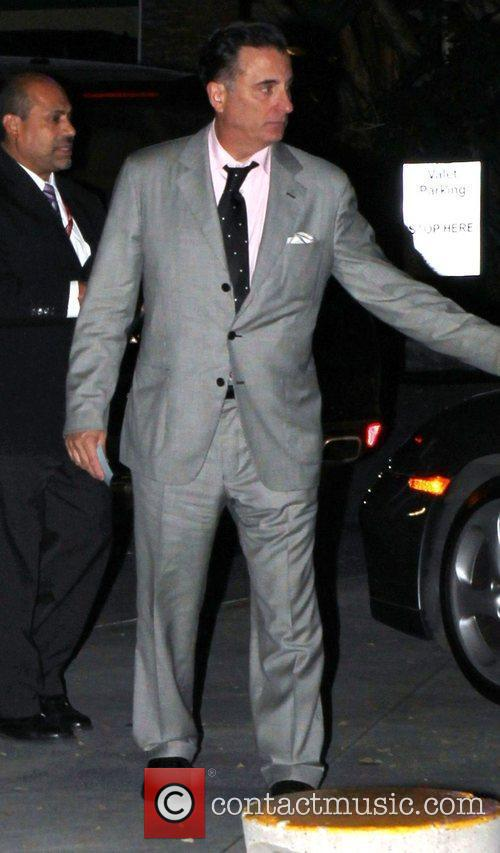 Andy Garcia Celebrities arrive at the Staples Center...