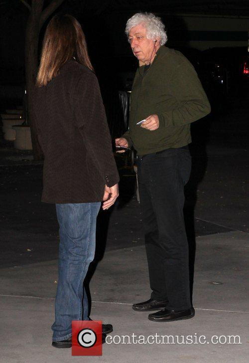 Avi Lerner Celebrities arrive at the Staples Center...