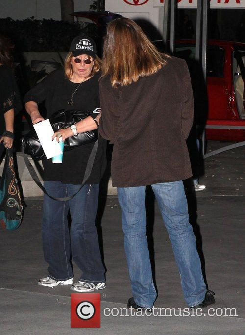 Penny Marshall Celebrities arrive at the Staples Center...