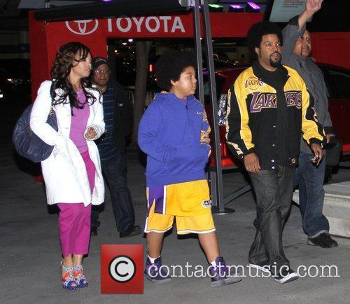 Ice Cube and Staples Centre 4