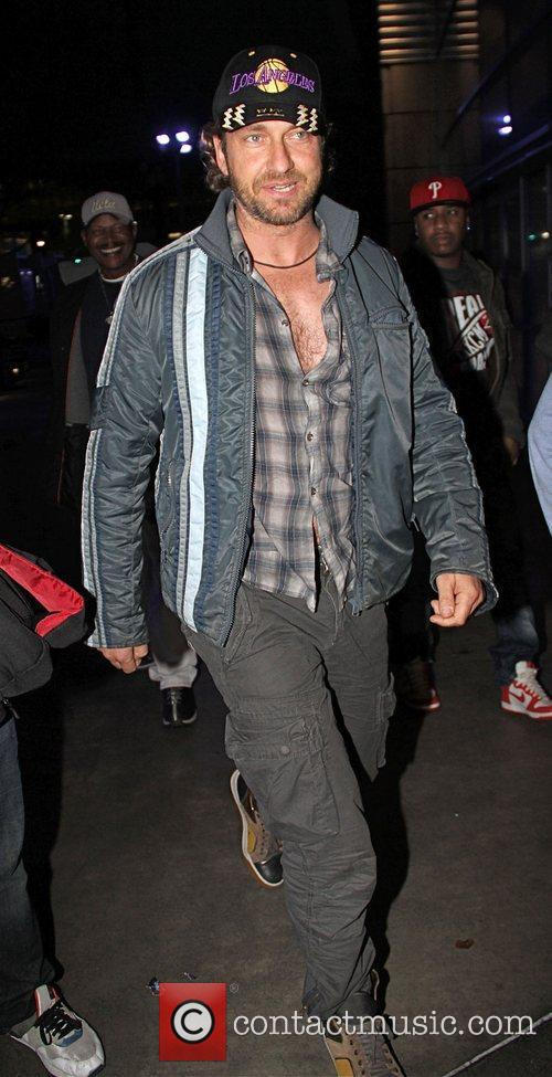 Gerard Butler and Staples Centre 3