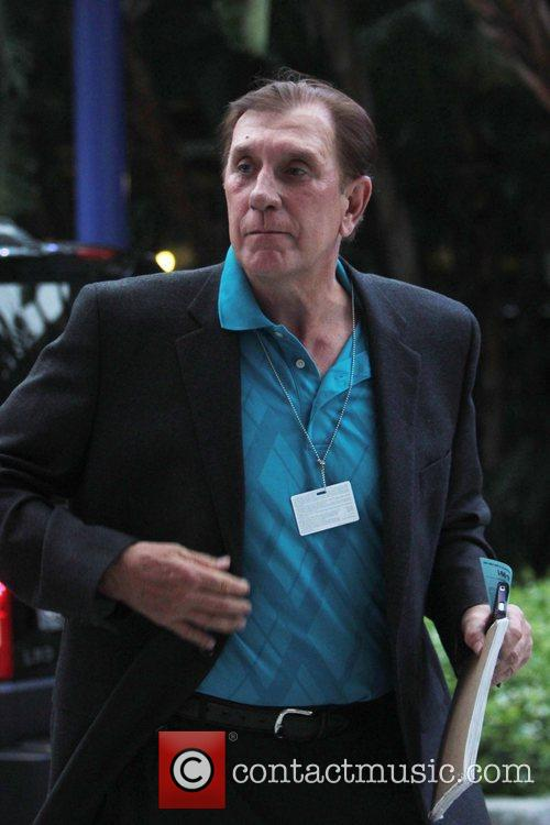 Rudy Tomjanovich Celebrities arrive at the Staples Centre...