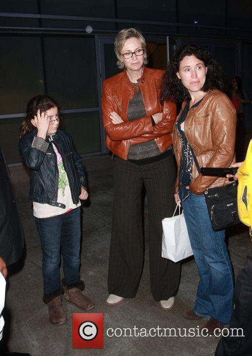Jane Lynch and Staples Center 2