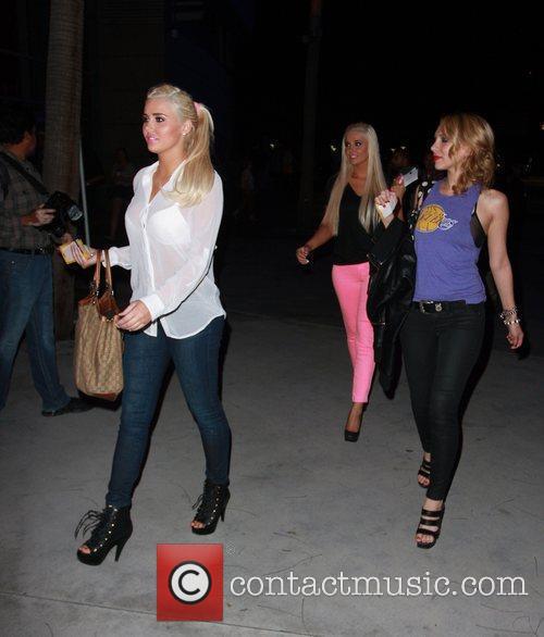 Karissa Shannon, Kristina Shannon and Staples Center 2