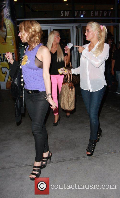 Karissa Shannon, Kristina Shannon and Staples Center 3