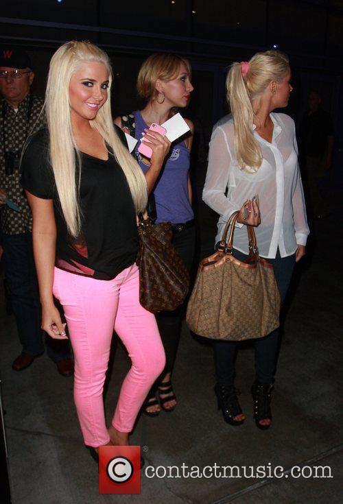 Karissa Shannon, Kristina Shannon and Staples Center 4