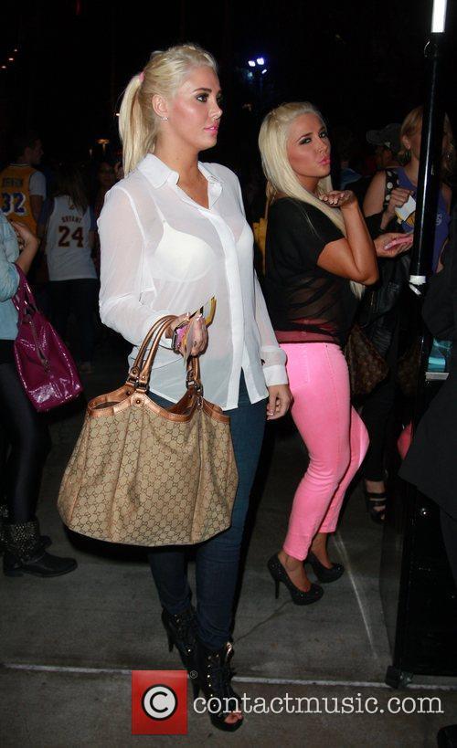 Karissa Shannon, Kristina Shannon and Staples Center 5