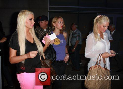 Karissa Shannon, Kristina Shannon and Staples Center 6