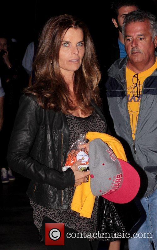Maria Shriver and Staples Center 2