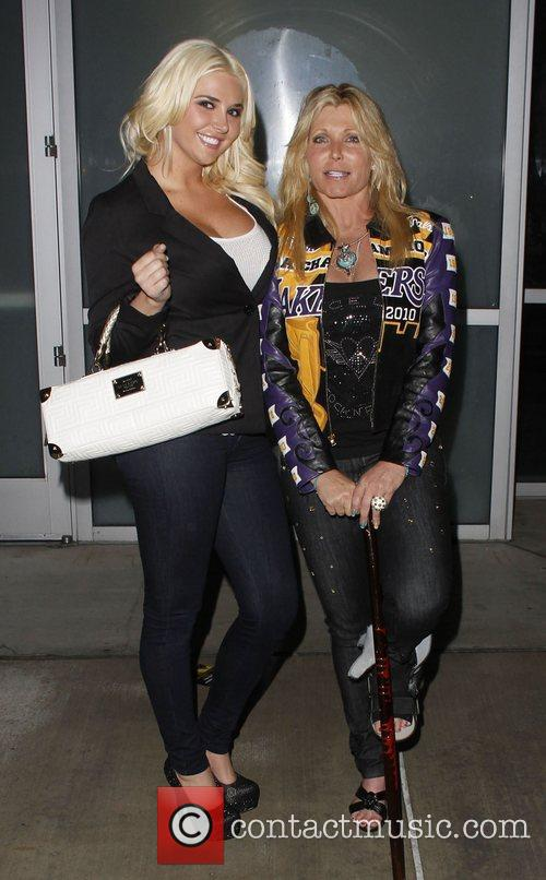 Pamela Bach, Kristina Shannon and Staples Center 4