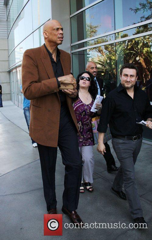 Kareem Abdul-jabbar and Staples Center 3