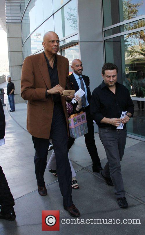 Kareem Abdul-jabbar and Staples Center 1