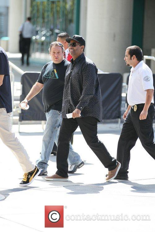 denzel washington celebrities are seen arriving the 3763980