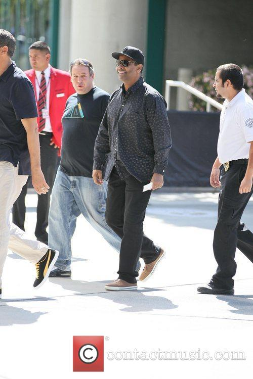denzel washington celebrities are seen arriving the 3763982