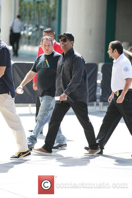 Denzel Washington and Staples Center 11