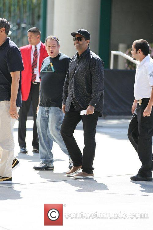 denzel washington celebrities are seen arriving the 3763987
