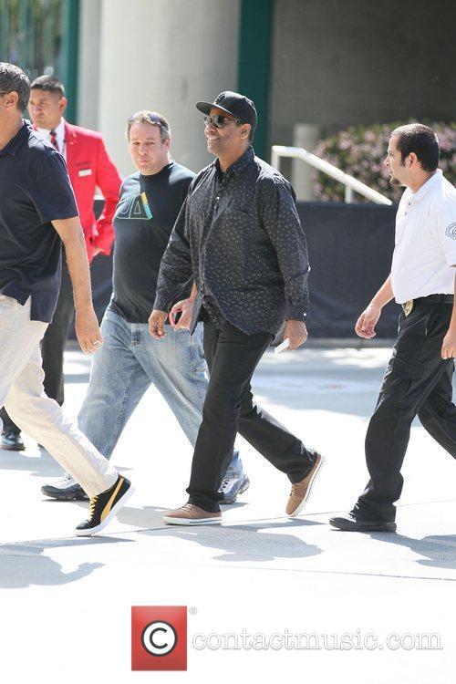 Denzel Washington and Staples Center 13