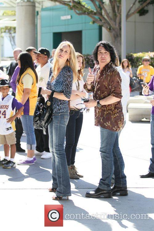 Paul Stanley and his wife Erin Sutton Celebrities...