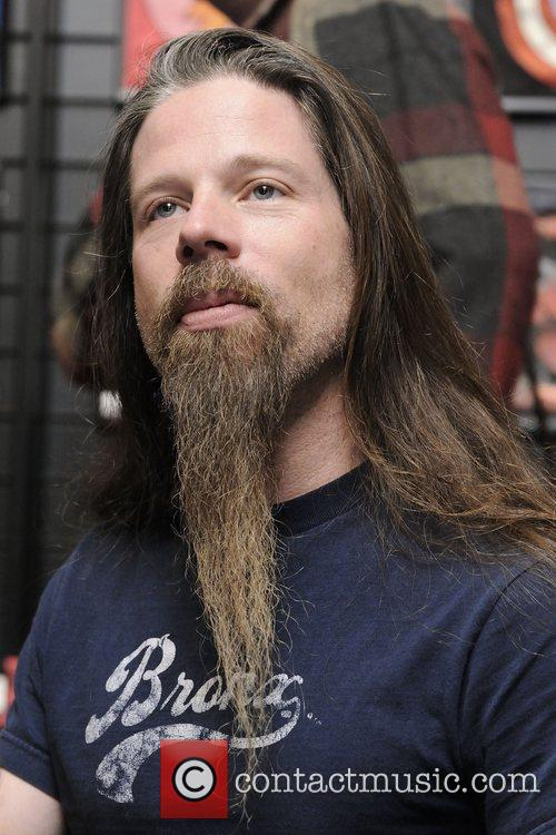 Lamb of God hold a CD autograph session...