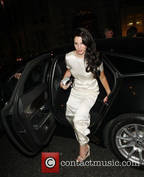Lana Del Rey arrives back at her hotel