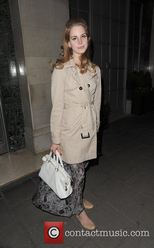 Lana Del Rey out and about in Mayfair....