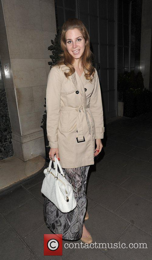 Lana Del Rey out and about in Mayfair.